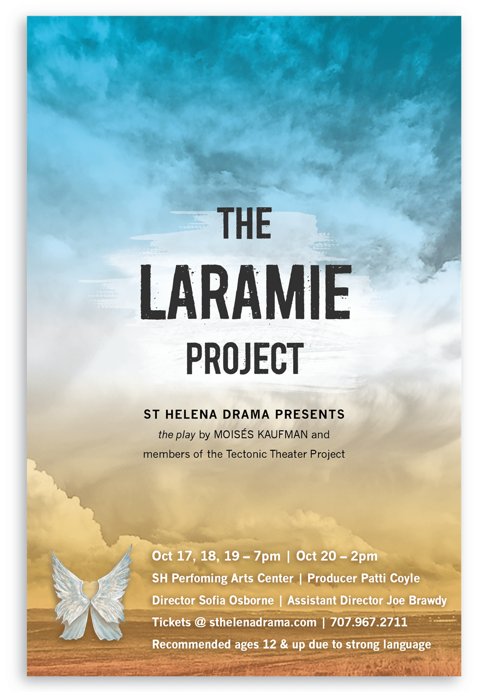 "SHHS Presents ""The Laramie Project,"" October 17-20, 2019"