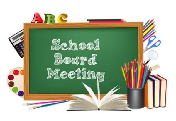 Board Meeting, August 13, 2020 - Click here for more info.