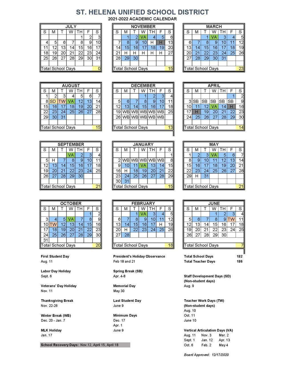 Uc Berkeley Academic Calendar Fall 2022.Academic Calendar 2021 2022